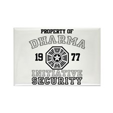 Dharma Initiative - Security Rectangle Magnet
