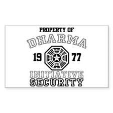 Dharma Initiative - Security Decal