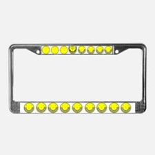 SON OF SMILEY License Plate Frame