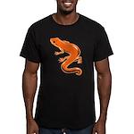 Newt Men's Fitted T-Shirt (dark)