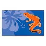 Newt Sticker (Rectangle 10 pk)