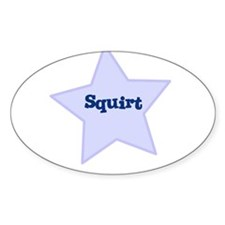 Squirt Oval Decal
