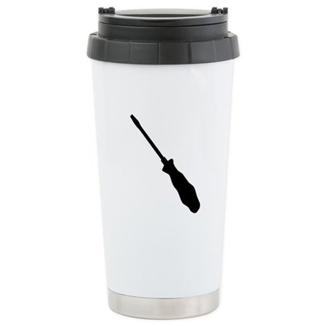 Screwdriver Stainless Steel Travel Mug