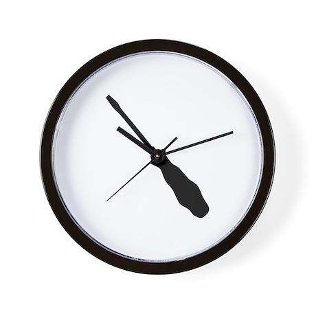 Screwdriver Wall Clock