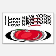 Grip Wear New York Rectangle Decal