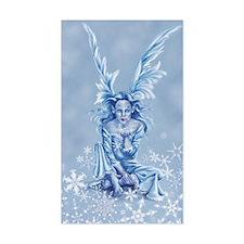 Frost Fairy Sticker (Rectangular)