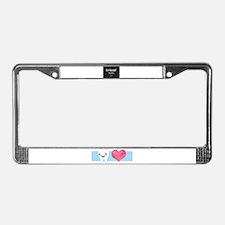 Cute Dental License Plate Frame