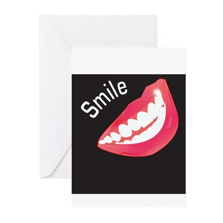 Smile Dental Themed Greeting Cards (Pk of 10)