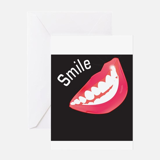 Smile Dental Themed Greeting Card