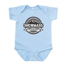 Snowmass Grey Infant Bodysuit