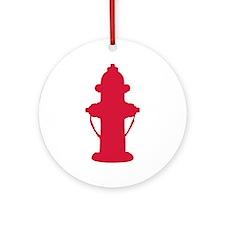 Hydrant Ornament (Round)
