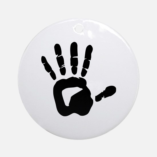 Hand Ornament (Round)