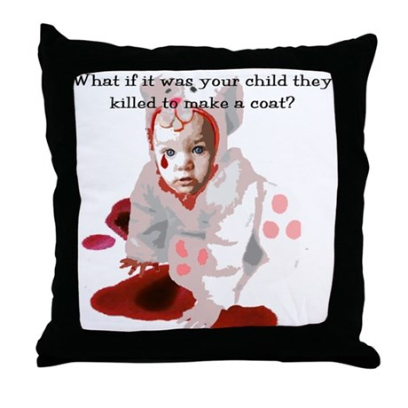 Your Child Throw Pillow