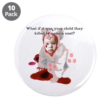 """Your Child 3.5"""" Button (10 pack)"""