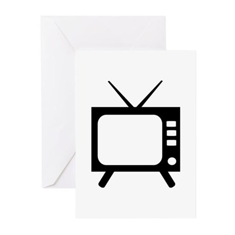 TV Greeting Cards (Pk of 20)