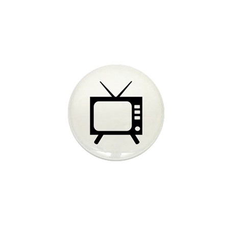 TV Mini Button (100 pack)