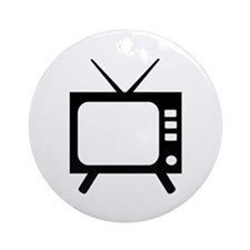 TV Ornament (Round)