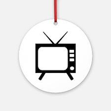 TV Ornament (Round)