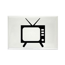 TV Rectangle Magnet (10 pack)