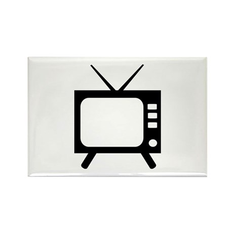 TV Rectangle Magnet (10 pack)