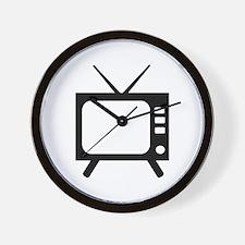 TV Wall Clock