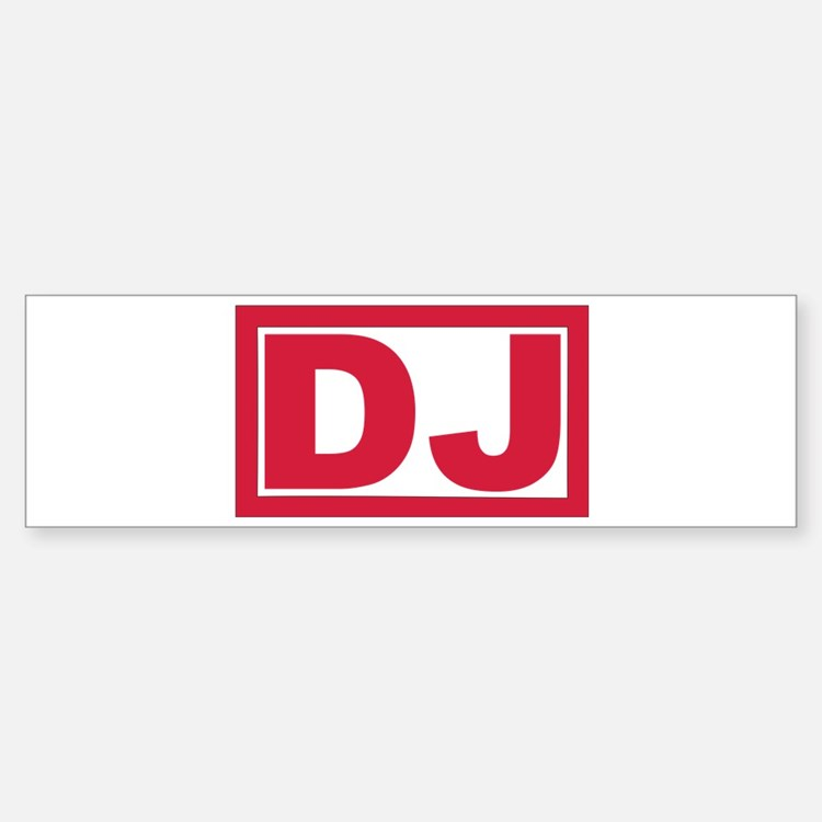 DJ Sticker (Bumper)