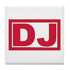 DJ Tile Coaster