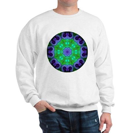Crystalline Mandala Sweatshirt