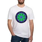 Crystalline Mandala Fitted T-Shirt