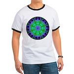 Crystalline Mandala Ringer T