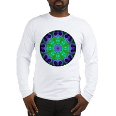 Crystalline Mandala Long Sleeve T-Shirt