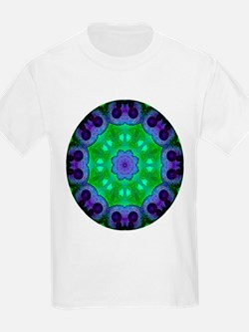 Crystalline Mandala Kids T-Shirt