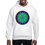 Crystalline Mandala Hooded Sweatshirt