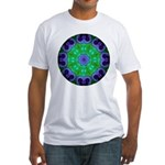 Crystalline Mandala Fitted T-Shirt