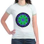 Crystalline Mandala Jr. Ringer T-Shirt