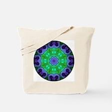 Crystalline Mandala Tote Bag
