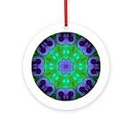 Crystalline Mandala Ornament (Round)