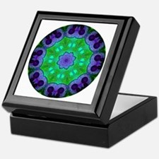 Crystalline Mandala Keepsake Box