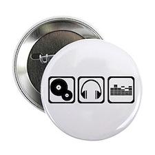 """DJ 2.25"""" Button (100 pack)"""