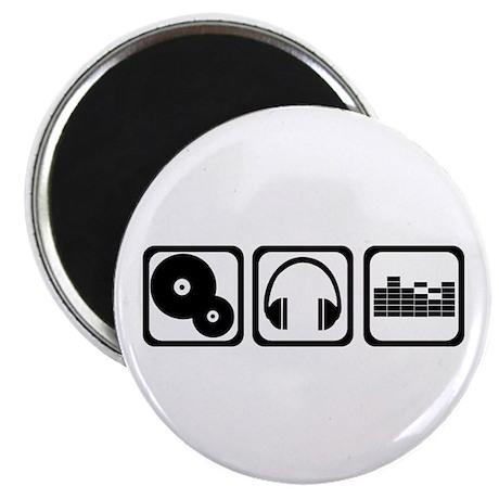 """DJ 2.25"""" Magnet (10 pack)"""