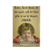 Common Table Prayer Rectangle Magnet (10 pack)