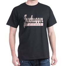 Tree Hugger Black T-Shirt