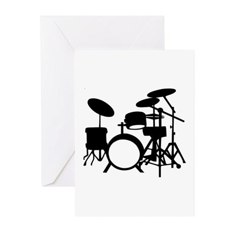 Drums Greeting Cards (Pk of 20)