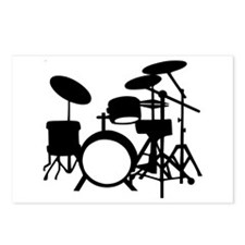 Drums Postcards (Package of 8)