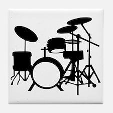 Drums Tile Coaster