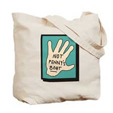 Not Penny's Boat LOST Tote Bag