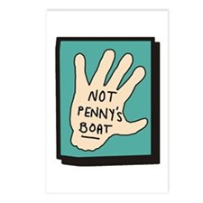 Not Penny's Boat LOST Postcards (Package of 8)