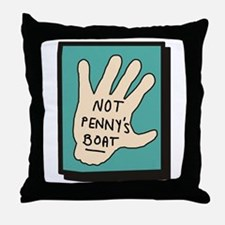 Not Penny's Boat LOST Throw Pillow