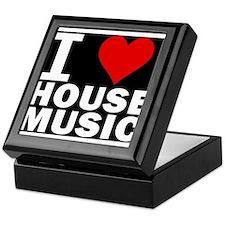 I LOVE HOUSE MUSIC Keepsake Box