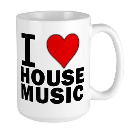 I LOVE HOUSE Large Mug